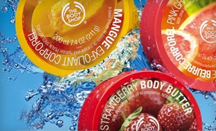 Today's Groupon: $20 for $40 at The Body Shop