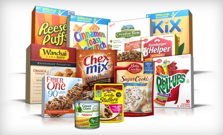 Groupon:  $20 for General Mills Sampler Pack and Coupon Book