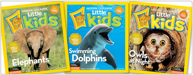 National Geographic Little Kids Magazine for $7 to $9 for One Year Subscription