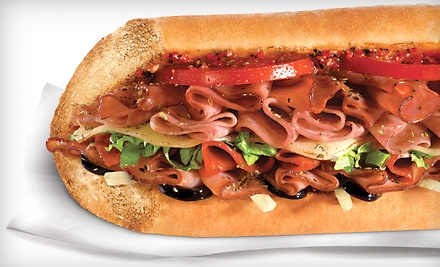 Get 8 Quizno's Subs for $26 Today Only